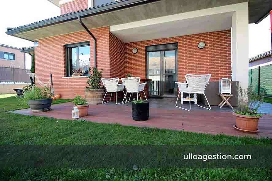 Chalet independiente Orcoyen